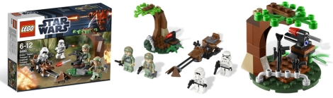 9489 - Endor Rebel Trooper & Imperial Trooper Battle Pack