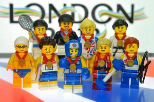 LEGO Team GB minifigures