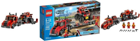 60027 - Monster Truck Transporter