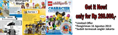 Lego Minifigures Encyclopedia Promo!!!